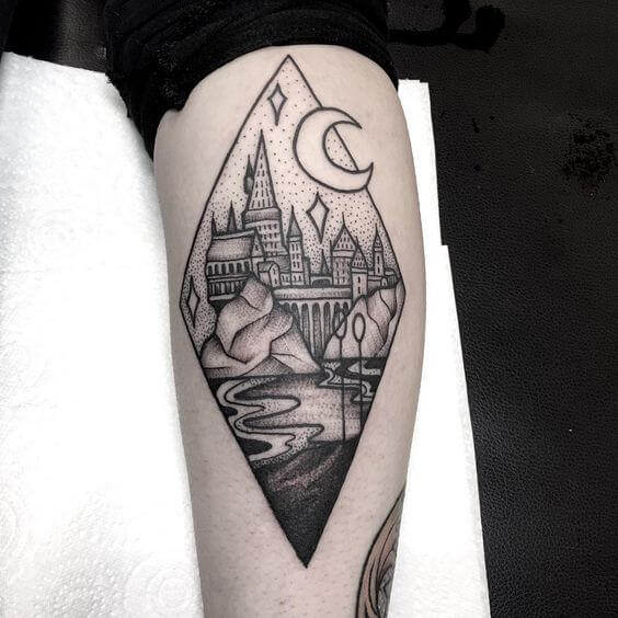 Harry Potter Tattoos For Men Ideas And Designs For Guys