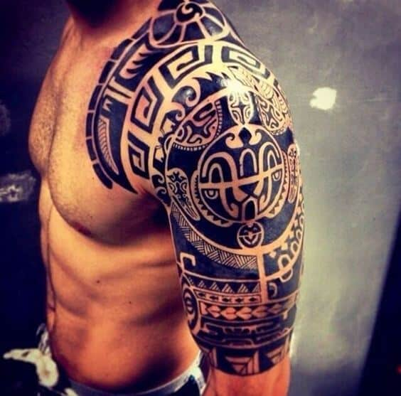 3341c4b461fb5 Check Out These Impressive Examples of Polynesian Tattoos for Men