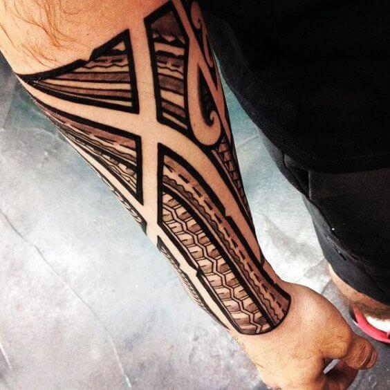 0c4654ffb Polynesian Tattoos for Men - Ideas and Designs for Guys