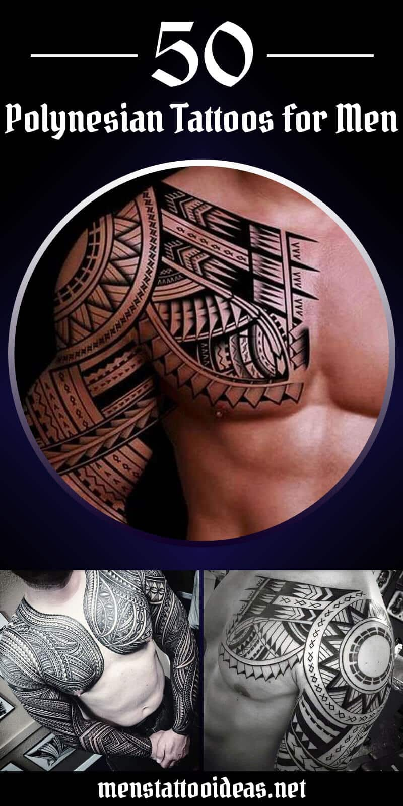 d65397f0203f8 Polynesian Tattoos for Men - Ideas and Designs for Guys