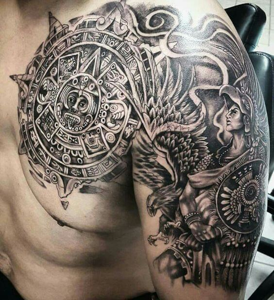 Aztec Tattoos Designs Ideas And Meaning: Ideas And Designs For Guys