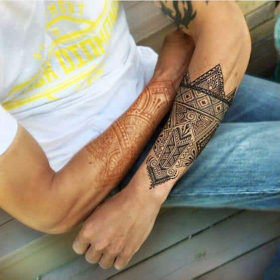 Henna Tattoos For Men Ideas And Designs For Guys