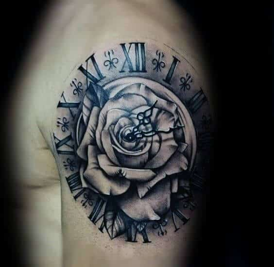 2788173b3025a Roman Numeral Tattoos for Men - Ideas and Designs for Guys