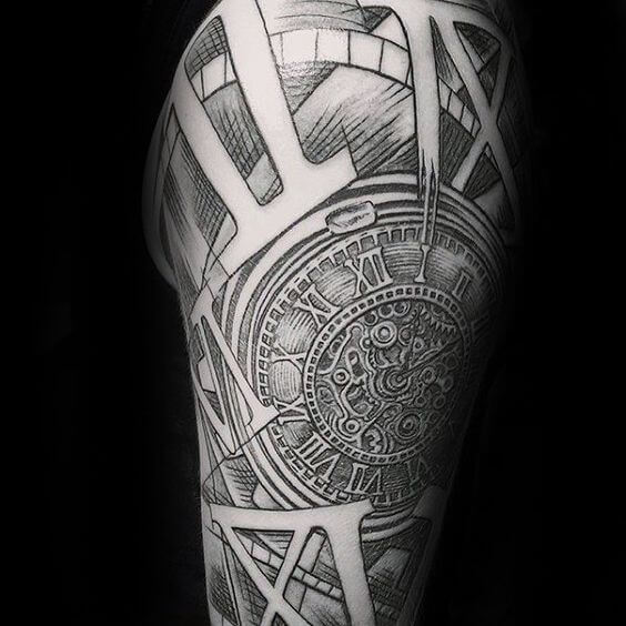 Tattoo Designs Numbers: Roman Numeral Tattoos For Men