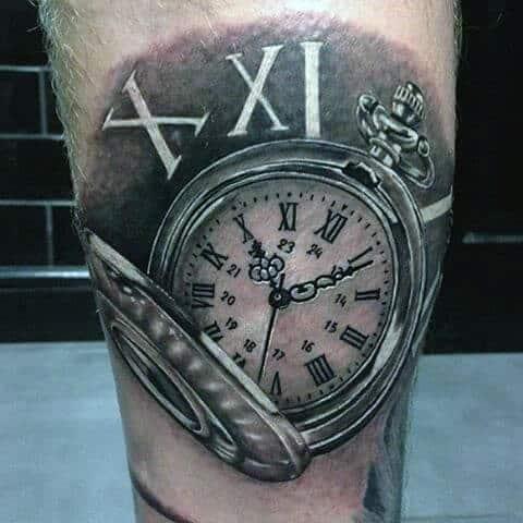roman-numeral-tattoos-10