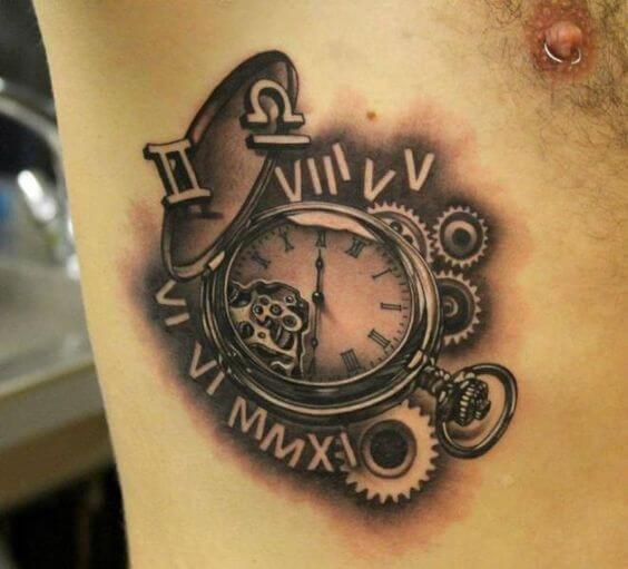 roman-numeral-tattoos-11