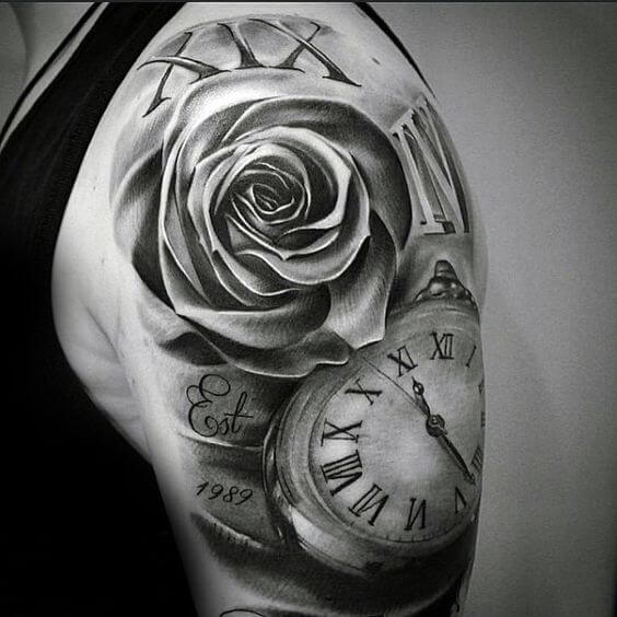 roman-numeral-tattoos-17