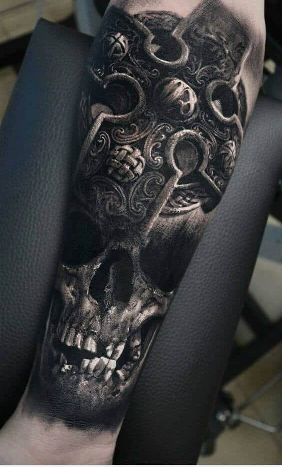 badass tattoos for men ideas and designs for guys. Black Bedroom Furniture Sets. Home Design Ideas