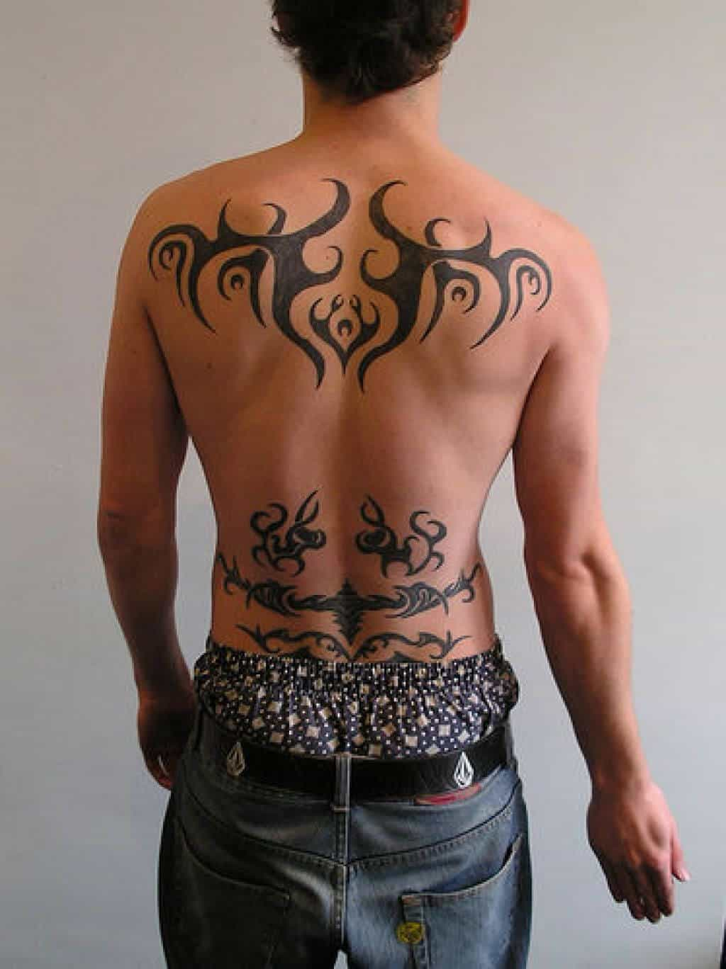 lower back tattoos for men ideas and designs for guys. Black Bedroom Furniture Sets. Home Design Ideas