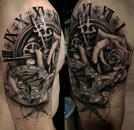 clock-tattoos-37