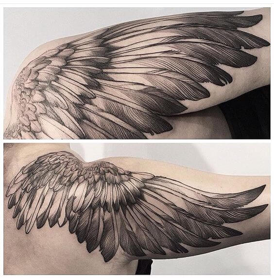 Tattoo Designs Wings: Ideas And Designs For Guys